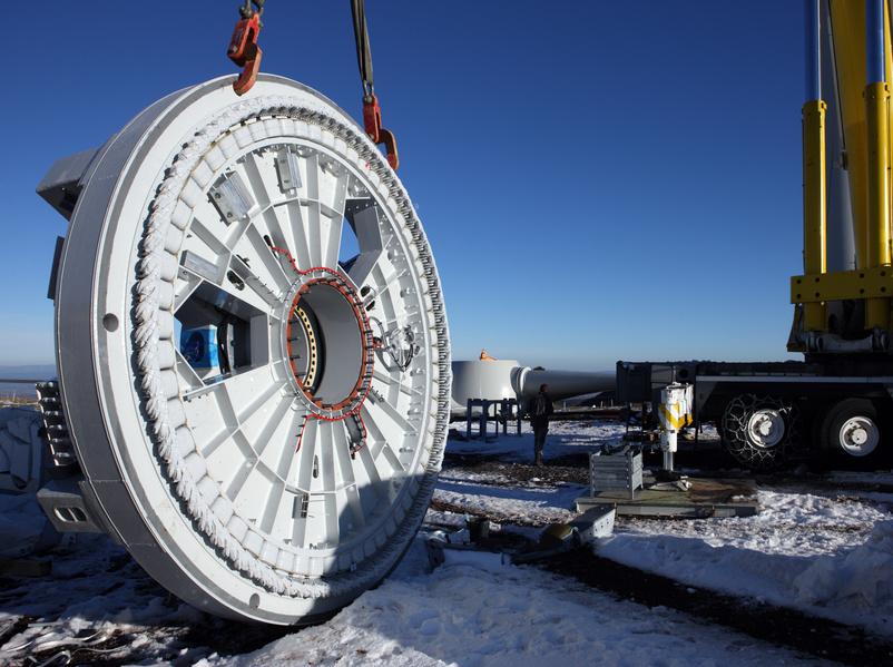 roue d'éolienne